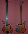 photo of 2001 Warwick Thumb 4 Custom Fretless Bass