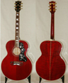 photo of 1990 Gibson J-200 Red