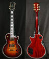 photo of 1996 Gibson Les Paul CS Florentine Plus Tobaccoburst