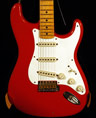 photo of 2006 Fender Custom Shop '56 Strat Relic Fiesta Red