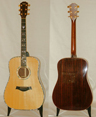photo of 1995 Taylor 910 Square Shoulder Cindy Inlay
